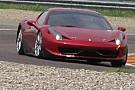 La Ferrari omologa la 458 in classe FIA GT3