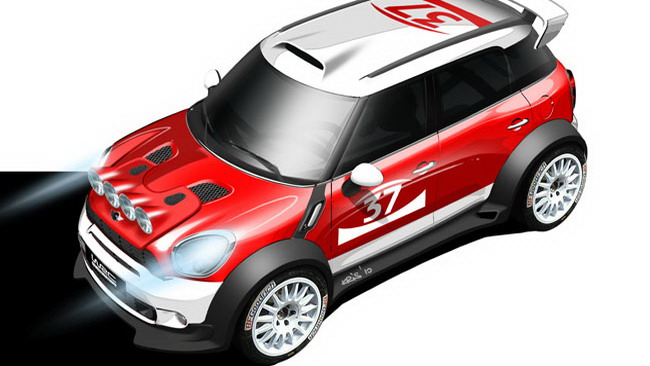La Mini rientra nel mondiale con la Countryman WRC