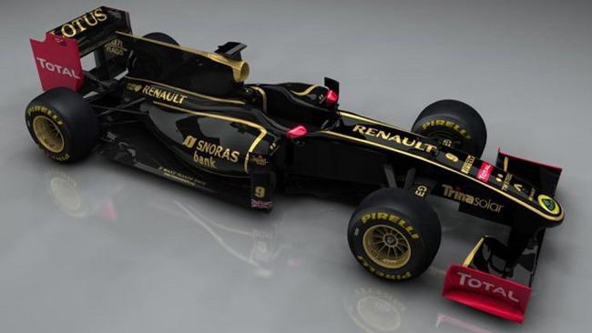 Lotus Renault presenta la nuova livrea a metà gennaio