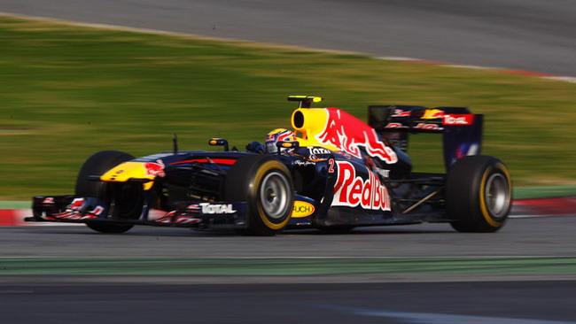 Barcellona, Day 4: Webber leader alla pausa pranzo