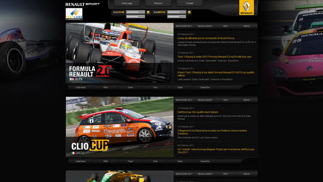 Nuova pagina web per Fast Lane Promotion