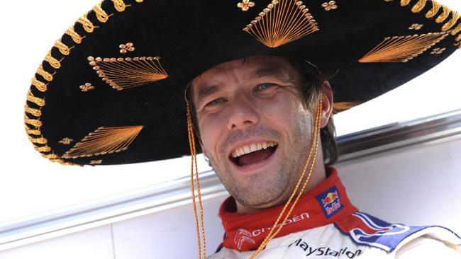 Séb Loeb se la ride al termine del Rally del Messico