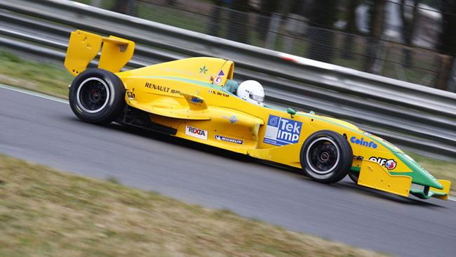 Nicola De Val svetta nei test di Monza