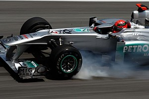 Formula 1 Ultime notizie Qualifica 2, Sepang: escluso Michael Schumacher