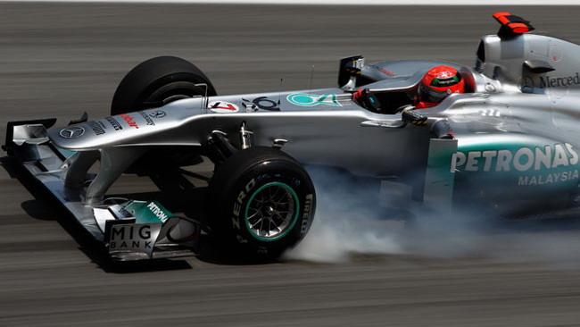 Qualifica 2, Sepang: escluso Michael Schumacher