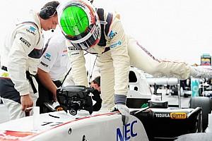 Formula 1 Ultime notizie Una zavorra persa ha perforato la Sauber di Perez!