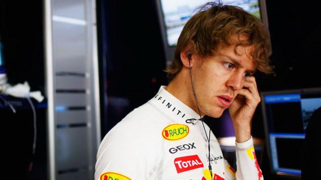 Vettel: la strategia cambiata in corsa non paga