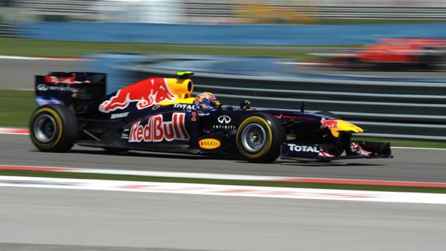 Barcellona, Libere 1: Webber fa il vuoto alle sue spalle