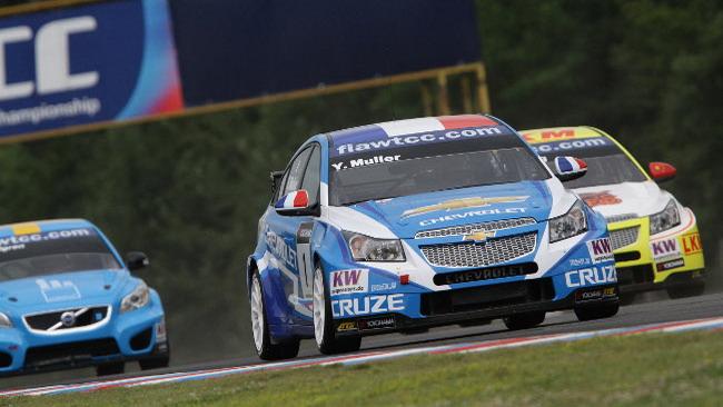 Tripletta Chevrolet nelle prime libere di Brno