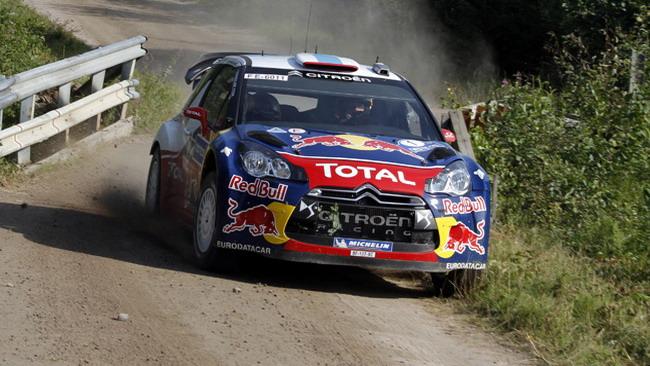 Finlandia, PS11: Ogier rallenta, Loeb chiude in testa
