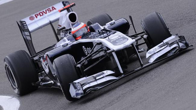 Nuove ali e diffusore posteriore sulla Williams