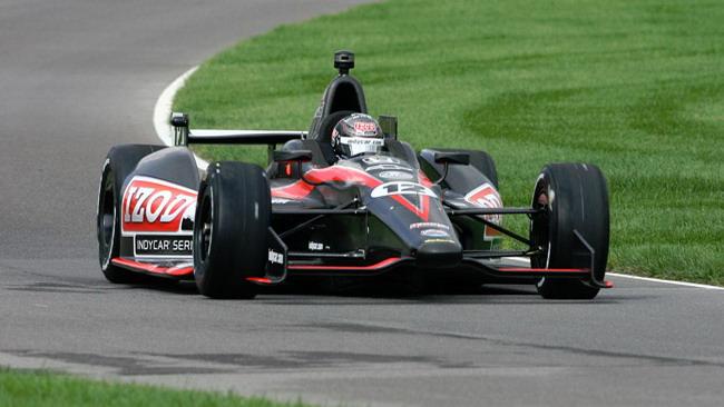 Primo test ad Indianapolis per la Dallara 2012