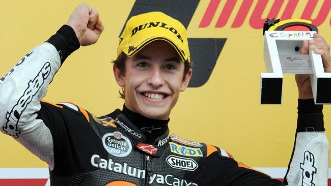 Marquez frena sul suo possibile salto in MotoGp