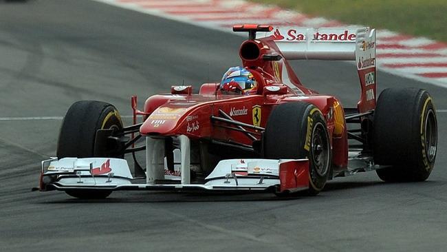 La Ferrari rivede l'ala anteriore per Abu Dhabi