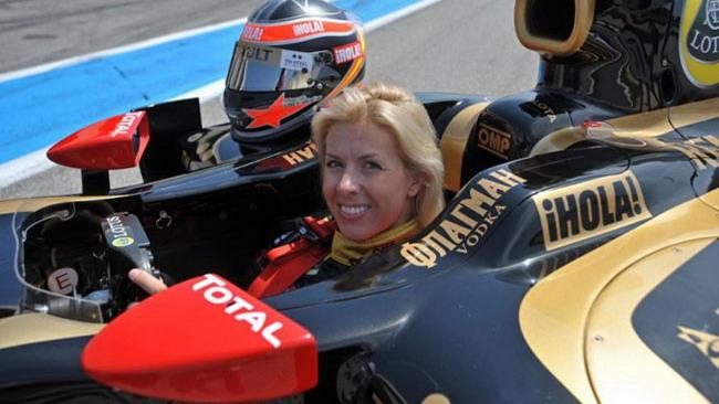 Maria de Villota diventa il terzo pilota Lotus Renault?