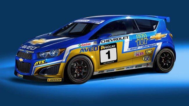 Maurer porterà in pista la Chevrolet Aveo S1600