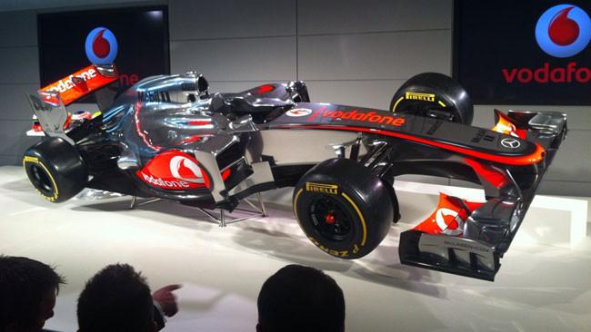 La McLaren Mp4-27 è più piccola e corta!