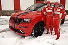Alonso e Massa con la Jeep Grand Cherokee SRT8