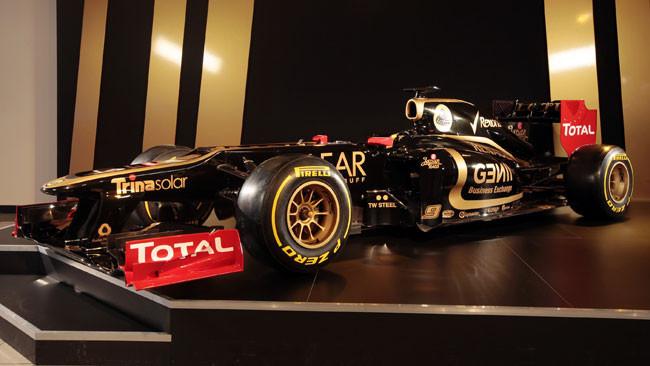Anche la Lotus E20 è ugly con lo scalino