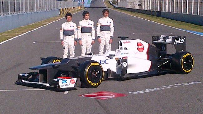 Ecco la prima immagine della Sauber C31