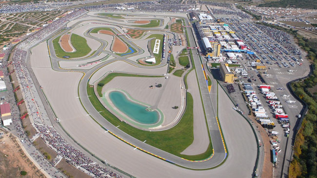 Tre giorni di test a Valencia per Moto2 e Moto3
