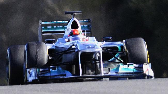 La Mercedes vuole rinnovare il contratto di Schumi