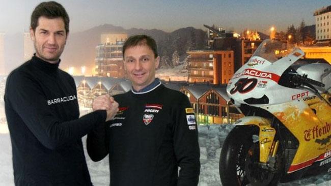 Barracuda nuovo sponsor del Liberty Racing