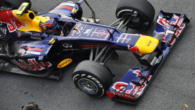 La Red Bull Racing a Melbourne con la RB8 normale?