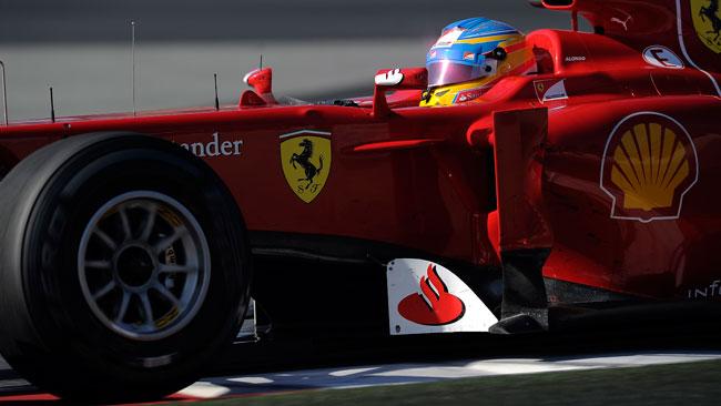 La Ferrari modifica la scocca della F2012?