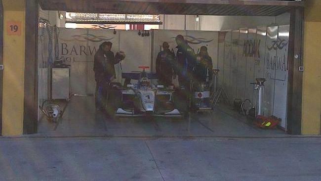 Test a Valencia con una GP2 per Jorge Lorenzo!