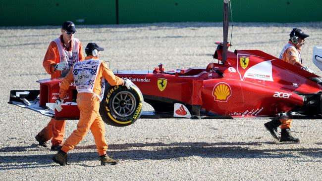 Grande delusione in casa Ferrari
