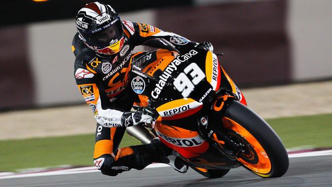 Marquez beffa Iannone in volata in Qatar