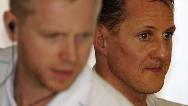 Schumacher non fa processi per il pit stop