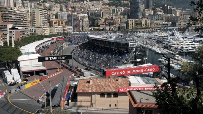 Allarme bomba ieri sera nel paddock di Monaco