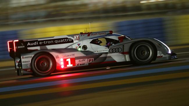Tripletta Audi quando siamo arrivati a metà gara