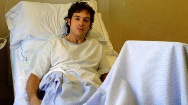 Intervento al ginocchio sinistro per Roberto Rolfo