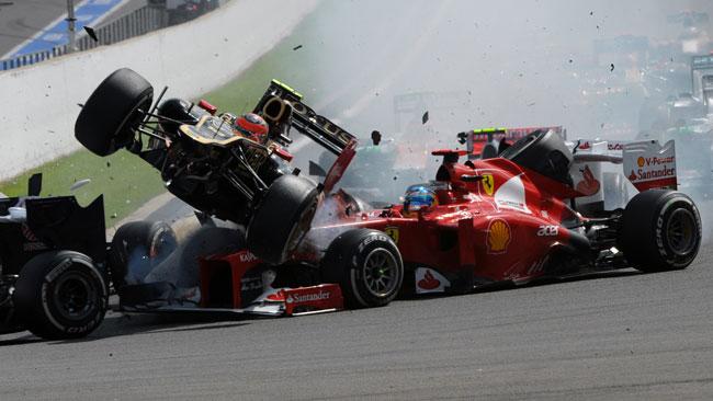 La scusa e l'accusa di Romain Grosjean