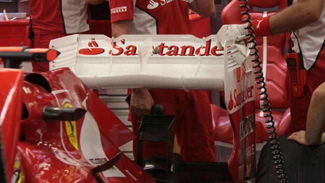 Ecco l'alettone posteriore provato da Alonso