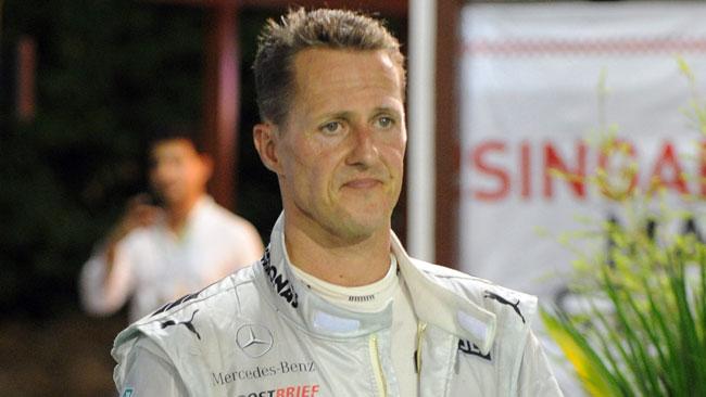 Schumacher non parla del futuro dopo la Mercedes