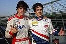Cheever e Agostini sulla Ferrari F10 il 9 novembre