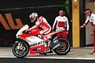 In pista anche le Ducati di Hayden e Dovizioso