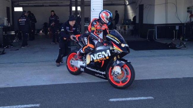 Il Forward Racing sceglie la Speed Up per il 2013