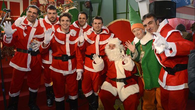 I piloti Ferrari Babbi Natale per un giorno
