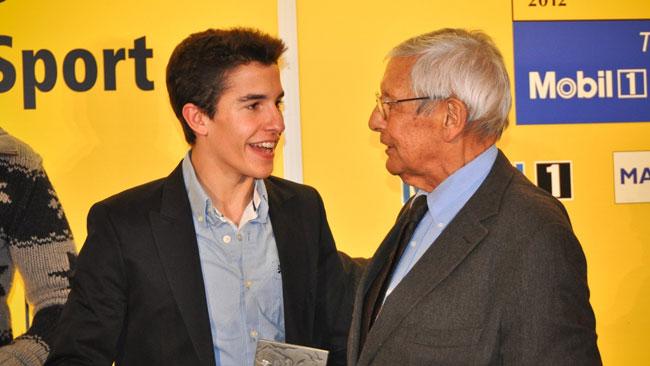 La RACC premia Marc Marquez a Barcellona