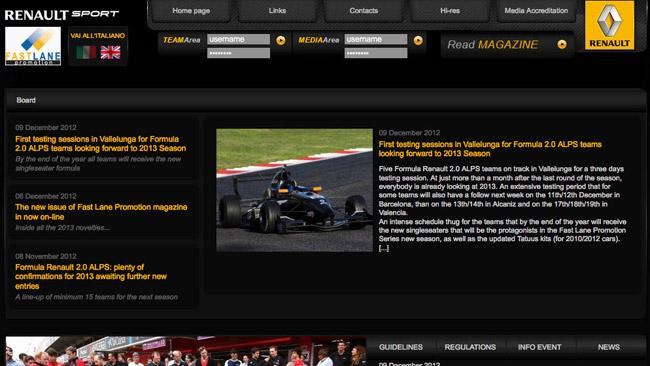 Online il nuovo sito ufficiale della serie