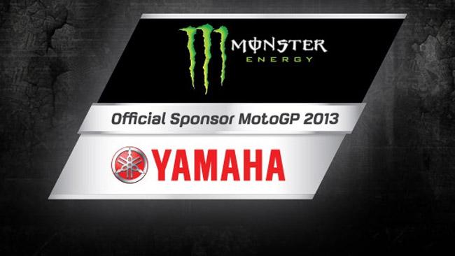 Ufficiale: Monster Energy main sponsor Yamaha
