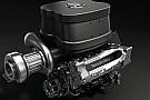 Ecco la prima foto del motore Mercedes V6 turbo