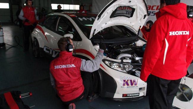 La Honda chiude i test spagnoli con oltre 2.200 km!