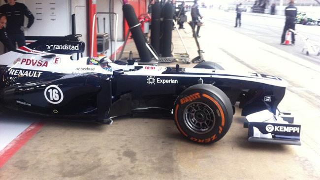 Barcellona, Day 1, Ore 10: c'è Maldonado davanti