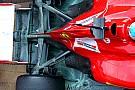 Prove di aerodinamica sulla Ferrari di Alonso